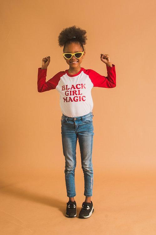 Black Girl Magic Longsleeve Shirt
