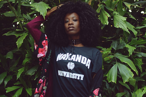 Wakanda University shirt