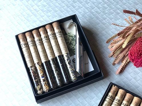 Tea Test Tubes & Strainer Gift Box