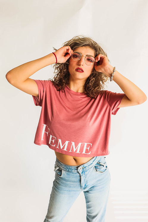 FEMME Cropped Tee