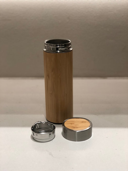 Bamboo Insulated Flask