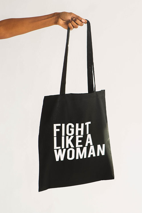 Fight Like a Woman Totebag
