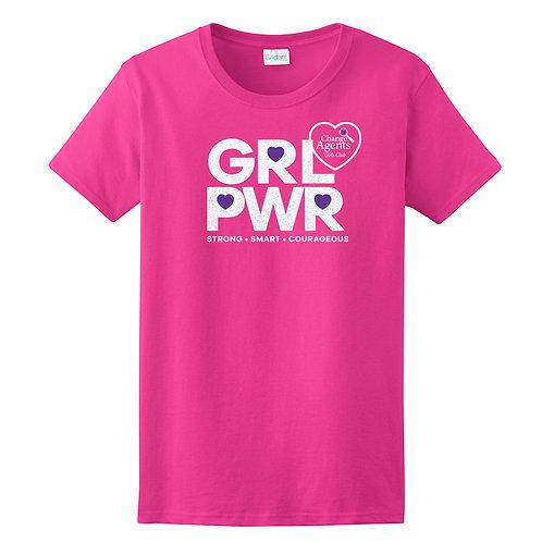 Girl Power Glitter Shirt