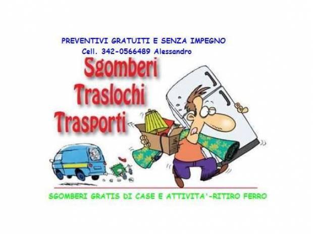 Raccolta Ferro Vecchio Catania traslochi , trasporti, somberi catania