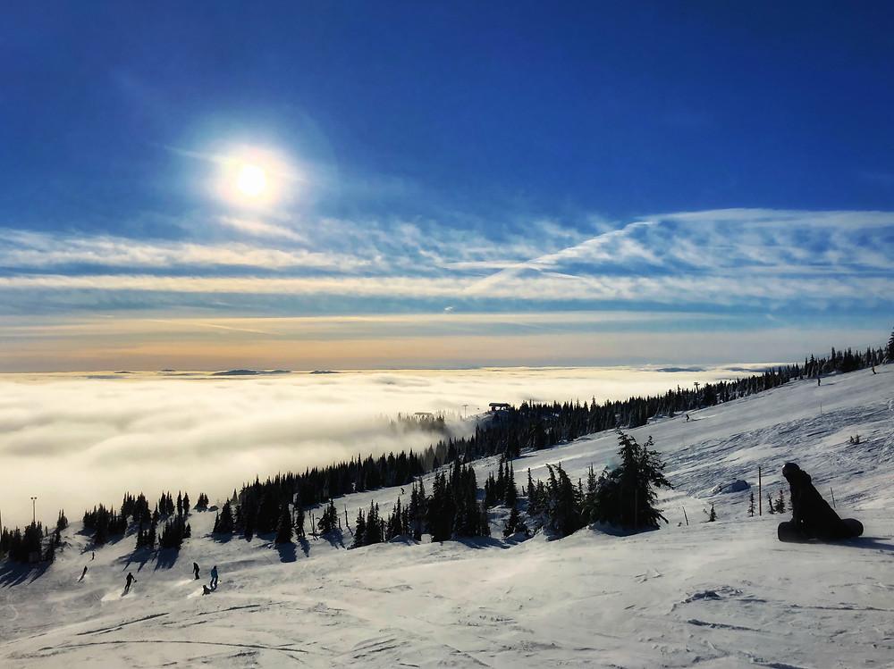 Big White Mountain Summit, photo credit: Erin Leslie