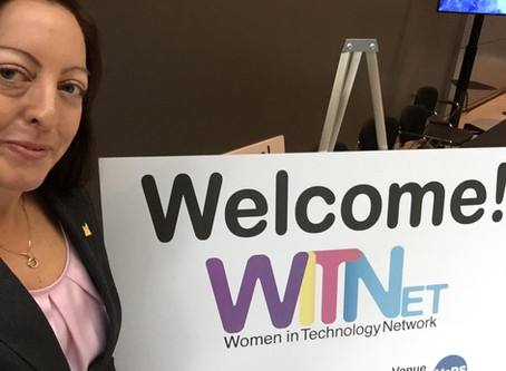 A year ago today...Women in TechnologyNetwork panelist.