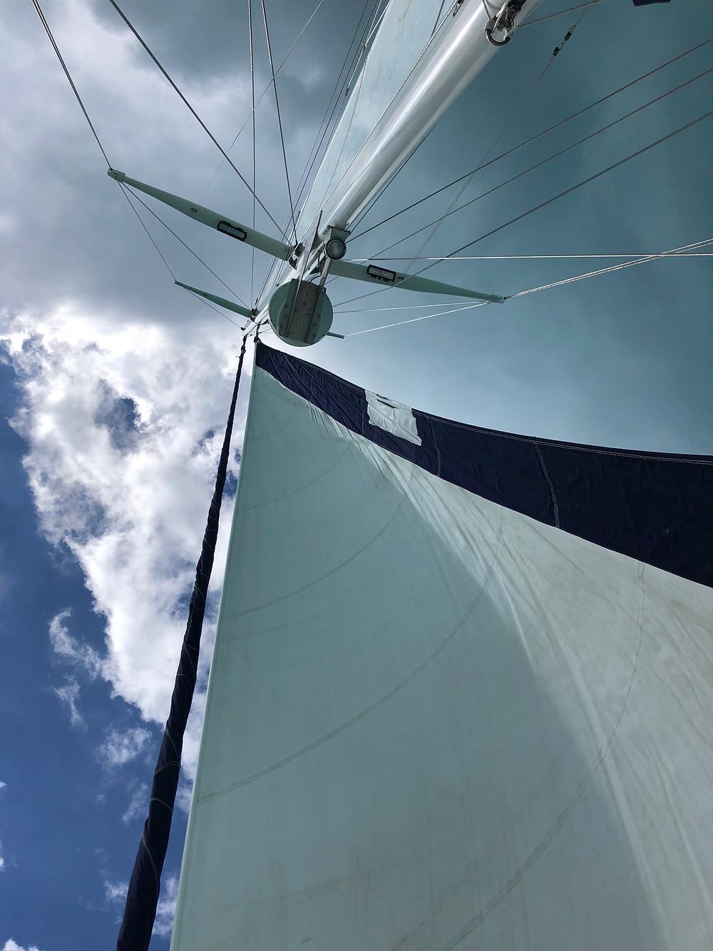 Sailing Mast facing the sky