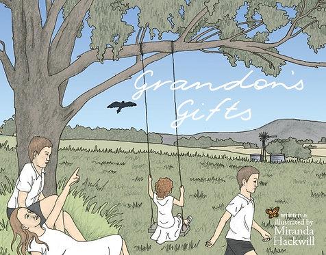 Grandon's Gifts by Miranda Hackwill (hardcover)