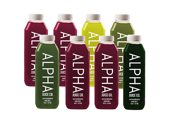 ALPHA Red: Juice Cleanse (Premier)