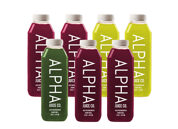 ALPHA Red: Juice Cleanse (Basic)
