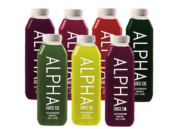 ALPHA Red: 2-7 Day Premier Cleanse
