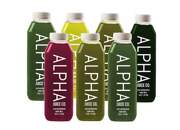 ALPHA Green: Juice Cleanse (Premier)