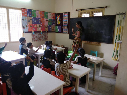 vrindavan playschool paent volunteer program