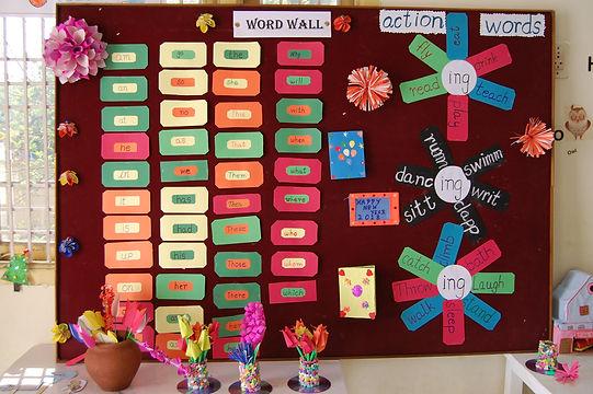 vrindavan playschool wall1