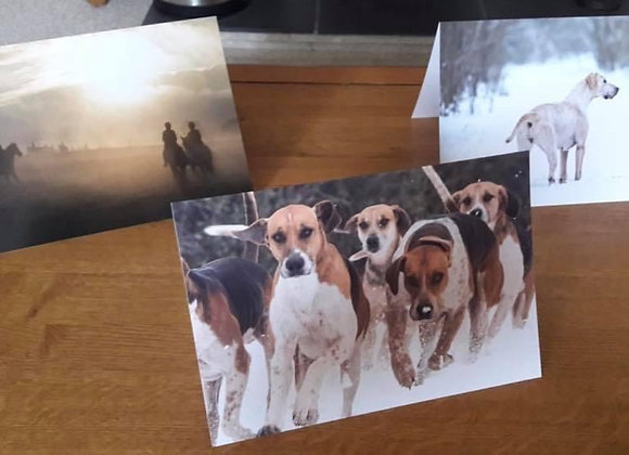 Worcestershire Hunt Greetings Cards (pack of 6)