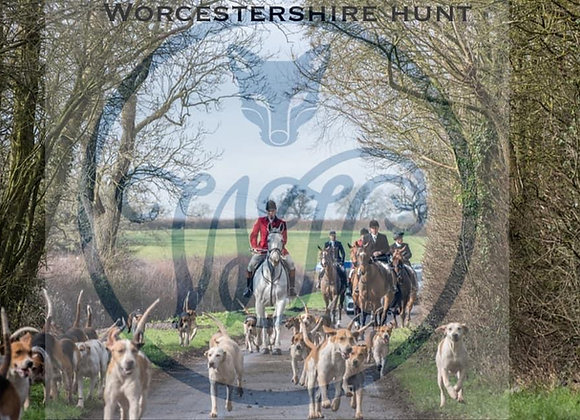 Worcestershire Hunt 300 Piece Jigsaw Puzzle