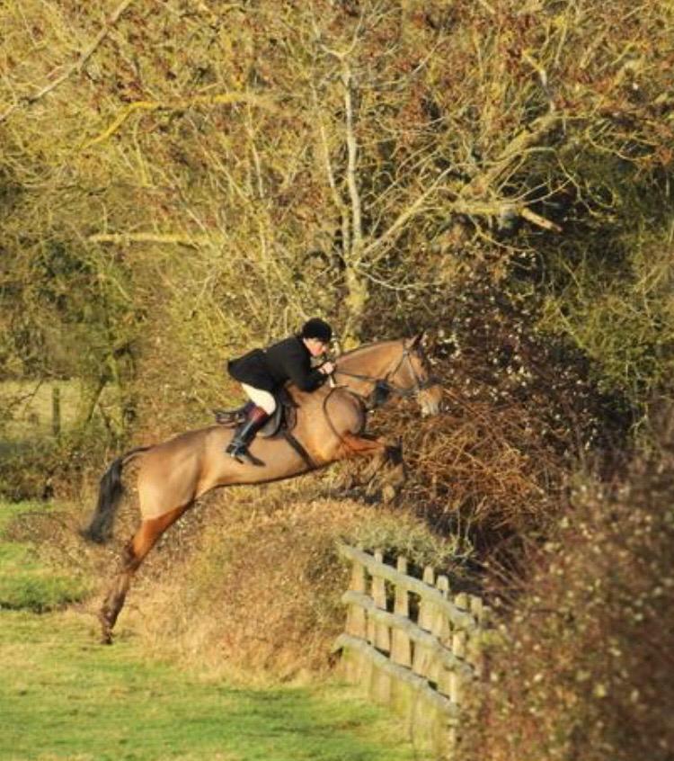 Adrian Ward MFH and his horse Dude.jpg