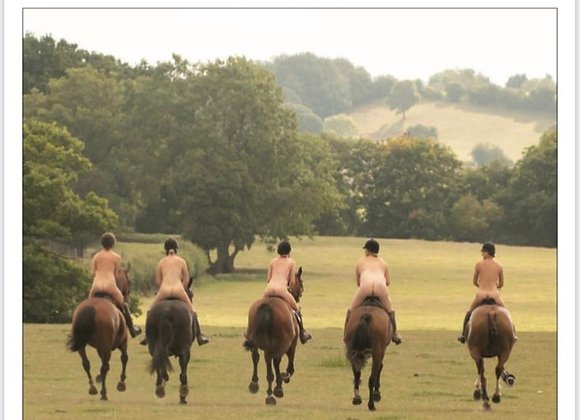 Worcestershire Hunt Supporters Club Naked Calendar 2021