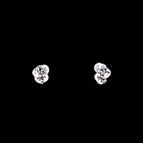Silberohrstecker Lilie