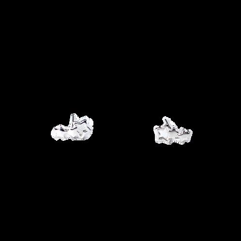 Silberohrstecker Sterne