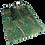 Thumbnail: Wollschal dunkelgrün
