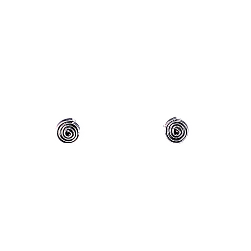 Silberohrstecker Kringel