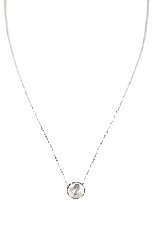 Kette Crystal silber