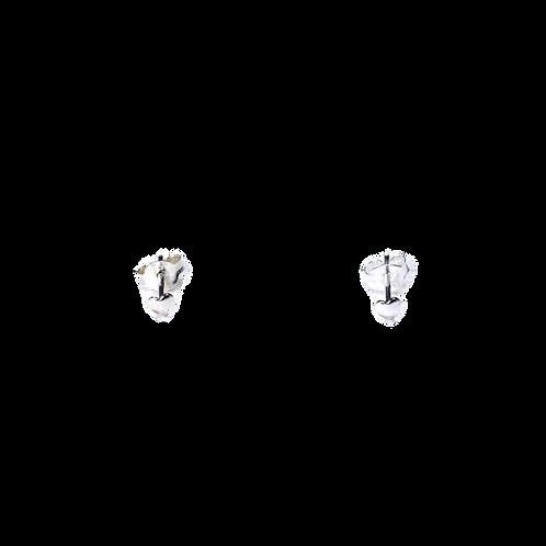 Silberohrstecker kleines Herz