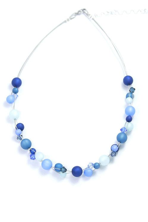 Polariskette blau