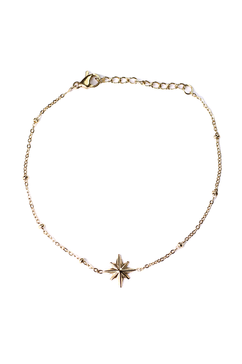 Armband Polarstern gold