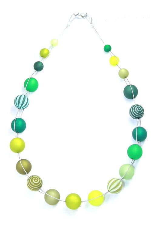 Wasserballkette grün