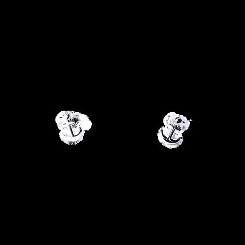 Silberohrstecker Anker
