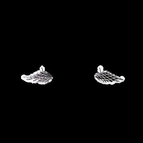 Silberohrstecker Engelsflügel