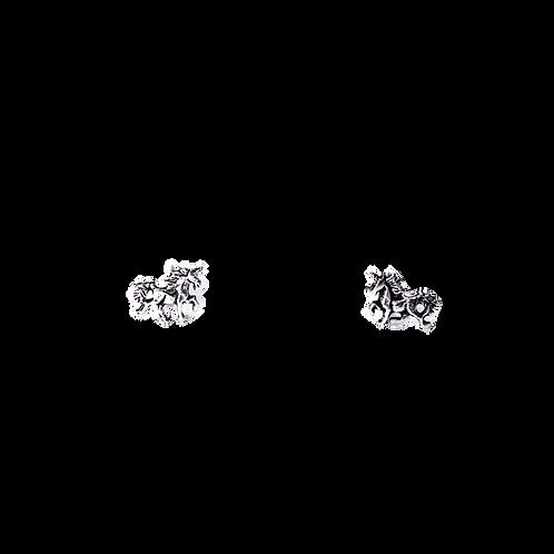 Silberohrstecker Einhorn