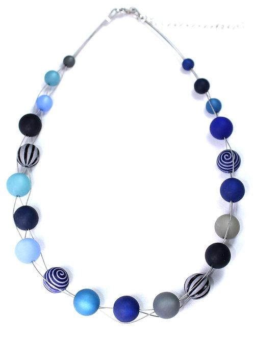 Wasserballkette dunkelblau