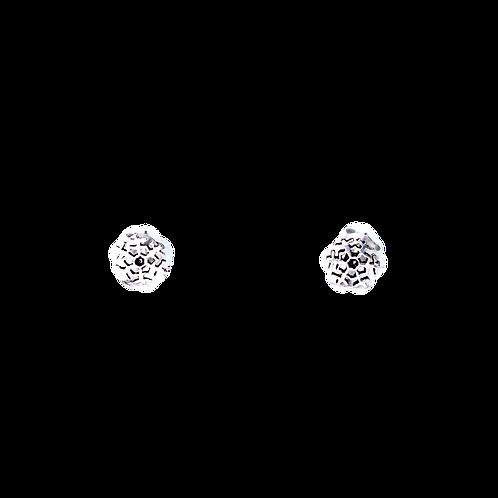 Silberohrstecker Schneeflocke