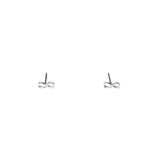 Silberohrstecker Infinity