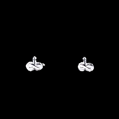 Silberohrstecker Infinity 2