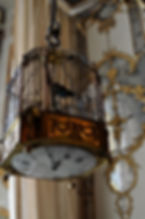 An 18th century birdcage