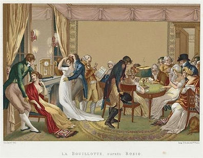A Regency print of Bouillotte