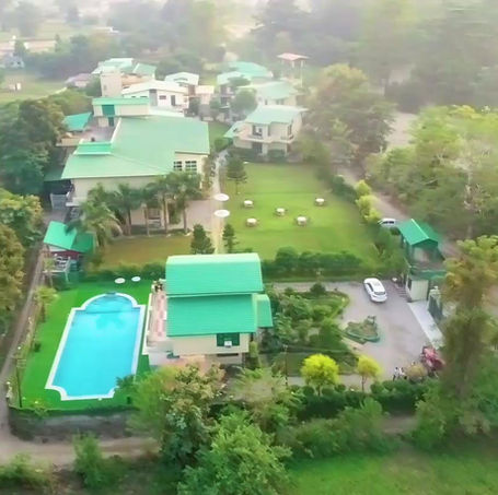 Areal View of the Tiger Groove Corbett Resort