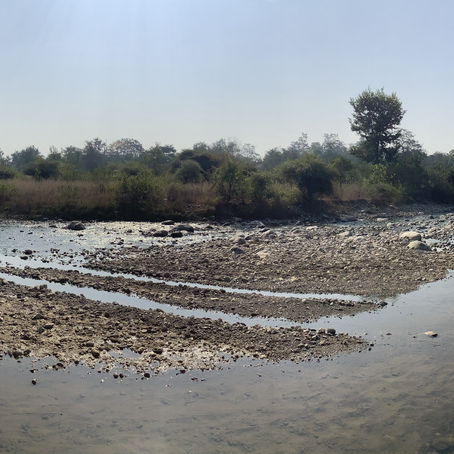 Panoramic View of river from The Tiger Groove