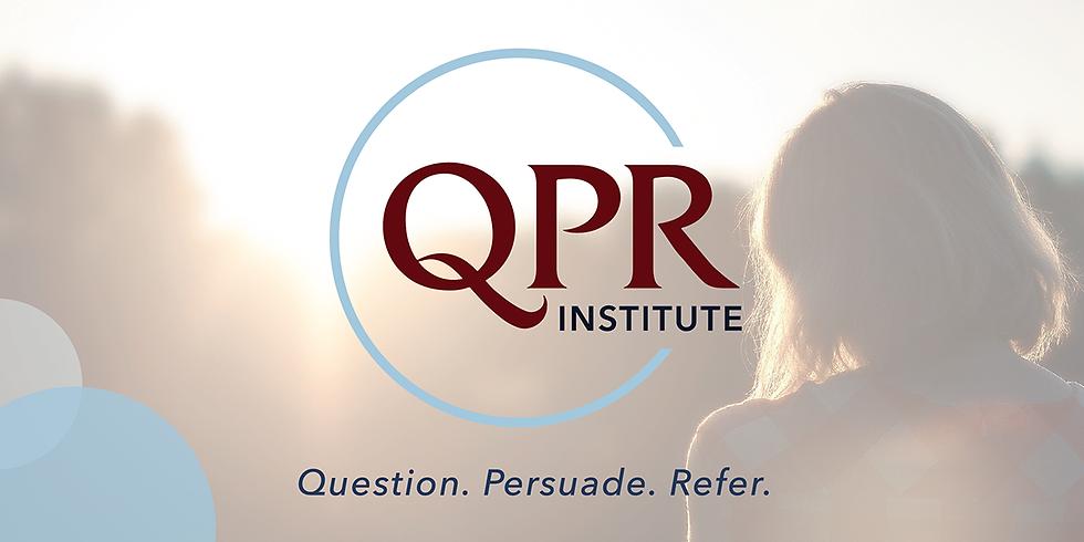 QPR: Suicide Prevention Gatekeeper Training- January