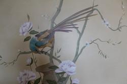 detail chinoiserie mural