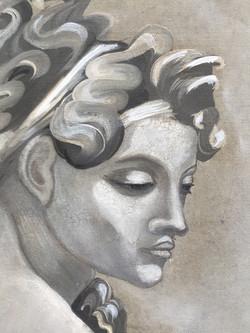 Michelangelo homage