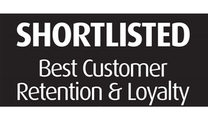 Shortlisted: UK Customer Service Excellence Awards