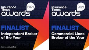 Finalists - Insurance Times Awards 2021