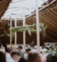 The SkyBarn Wedding Yurt