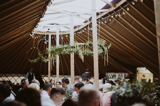 The SkyBarn Wedding Yurt