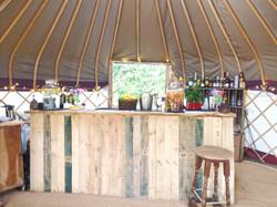 Mobile Bar 'The Nomadic Yurt Bar'